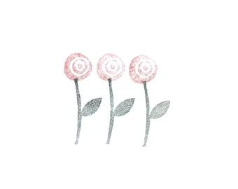 Flower + Stem Stamp Set | 022124