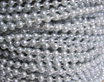 supplies craft round c beads and pearls silver kits pearl