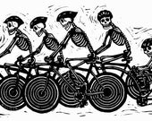Day of the dead bicycle t...