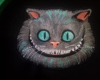 Embroidered badge Cheshire Cat