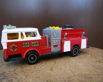 Fire Dept New York Truck Toy, Fire Truck New York, Fire Truck Toy, Majorette Fire Truck, Majorette Toy, Fire Truck New York