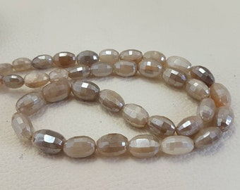Rare Mystic moonstone faceted nuggets beads,AAA quality faceted nuggets,moonstone faceted  nuggets  9.13mm 16 inches strand