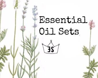 Essential Oil Set, Organic Essential Oil Kit, Essential Oil Gift Set, Essential Oils Kit, Aromatherapy Kit, Pure Essential Oils, Starter Kit