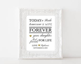 On SALE TODAY, Gift From Daughter in Law, Mom Gift, Mother In Law Gift, Mother Of The Groom Gift, Wedding Gift, Gift From Bride