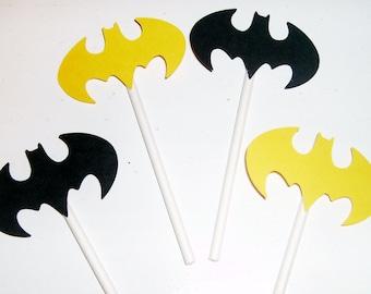 Batman Cupcake toppers (231C)