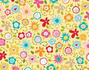 Summer Breeze Main by Bella Blvd for Riley Blake Designs -  C3620-Yellow