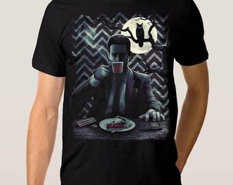 Twin Peaks 'Dale Cooper' Art T-shirt, Men's Women's All Sizes