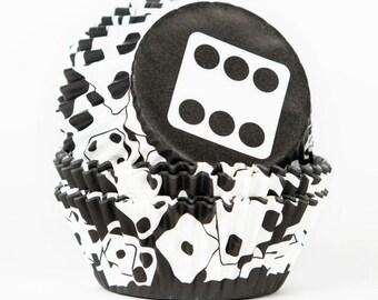 Dice Cupcake Liners