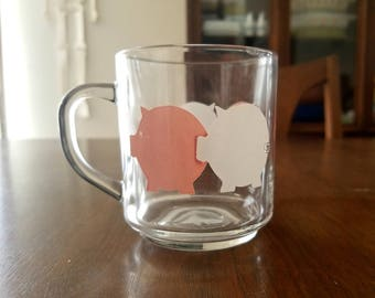 Luminarc pigs mug