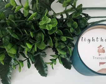 Contemporary 8 oz Soy Candle