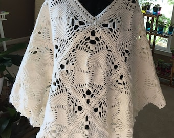 Shawl- HANDMADE - Crochet