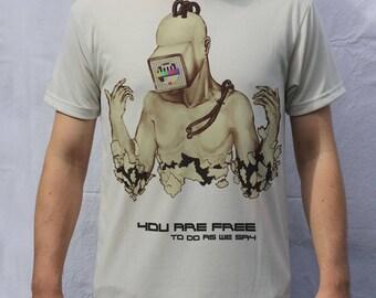 Cyborg Obeying T shirt