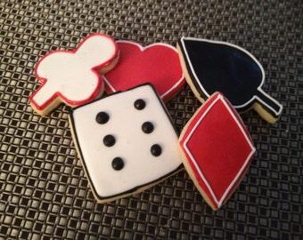 Playing Cards Vanilla Sugar Cookies 1 Dz