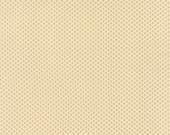 SOUTHERN EXPOSURE - Biscuit - One Half Yard - 42255-23 - by Edyta Sitar-Laundry Basket Quilts - Floral Reproduction Spring Sprouts Tan