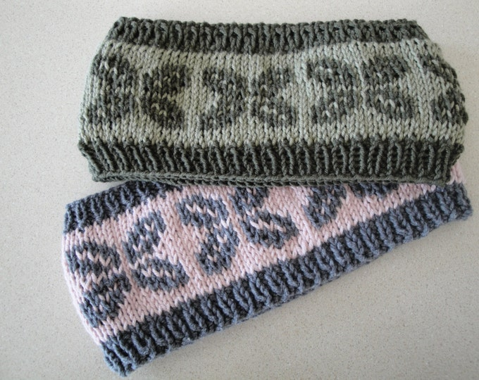 Pattern - Sidewalk Headband to Knit