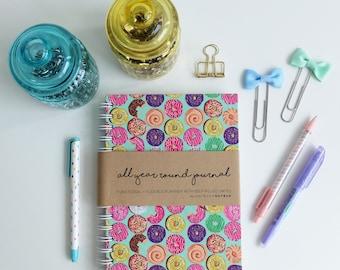 Cute Planner - Weekly Planner - Monthly Planner - 2017 Planner - College Planner : AYR Donuts