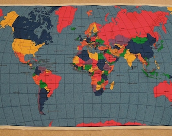 World map quilt etsy world map quilt gumiabroncs Images