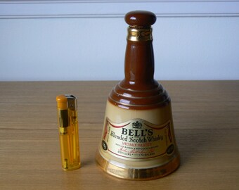 Small Bell's Bell Whisky Decanter Complete with Labels.