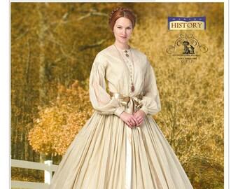 Butterick 5831- Civil War Dress-Costume Dress-Plus Size