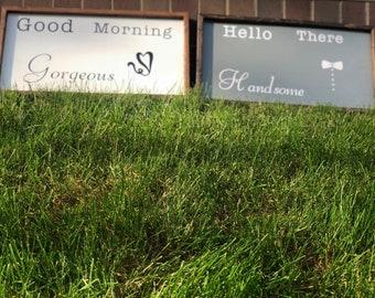 Good morning signs