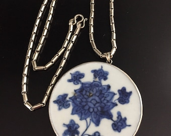 Sterling & Ming China Pendant Sterling Silver Necklace *chinajewelry * #sale