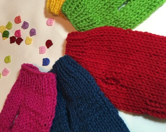 Teeny Tiny Micro Teacup Dog/Puppy Hand Knitted Sweater 2 lb & 3 lb - 7 Vibrant Colors