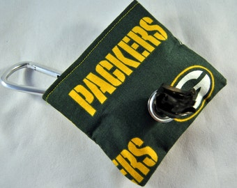 Greenbay Packers Poop Bag Pouch
