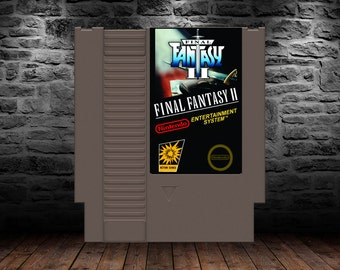 Final Fantasy II - The Never Ending Fantasy Continues - NES - English Translation