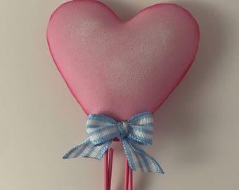 Heart  planner clips
