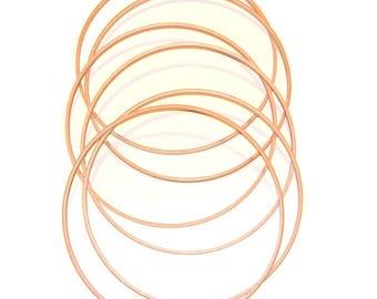 Set of 6 Hoopla hoops - 25 cm diameter