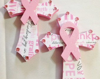 Breast Cancer Awareness Crosses