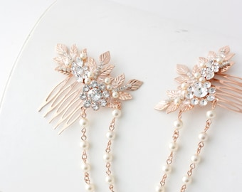 Wedding Hair Jewelry Etsy