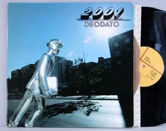 "Deodato - 2001 - Vintage Vinyl LP Record Album 1977 CTI ""Prelude"" Reissue Embossed Gatefold Jazz Funk"