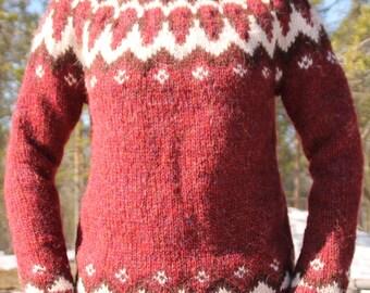 Icelandic sweater, Alafoss Lopi, Dropar