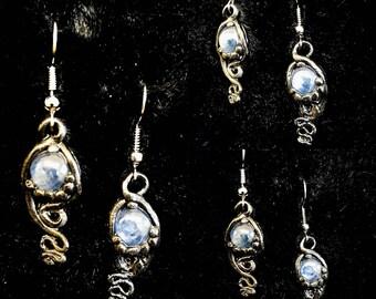 """Earrings """"Kyanite Fantasy"""""""
