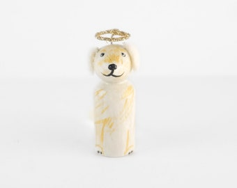 ADD ON In Memory of Dog - Add a halo to your pet - all dogs go to heaven - dog wedding