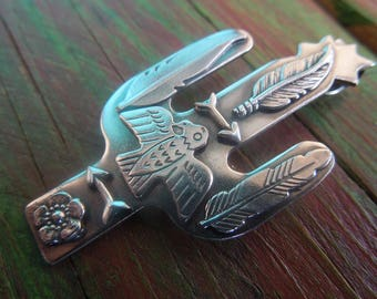 New mexico zia sterling silver american turquoise pendant for Thunderbird jewelry albuquerque new mexico