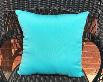 Sunbrella Canvas Aruba Pillow Water Resistant