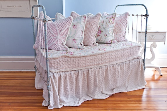 50 Kids Wrought Iron Bed Wrought Iron Queen Headboard: Custom Order Antique Wrought Iron Crib Settee Daybed Shabby