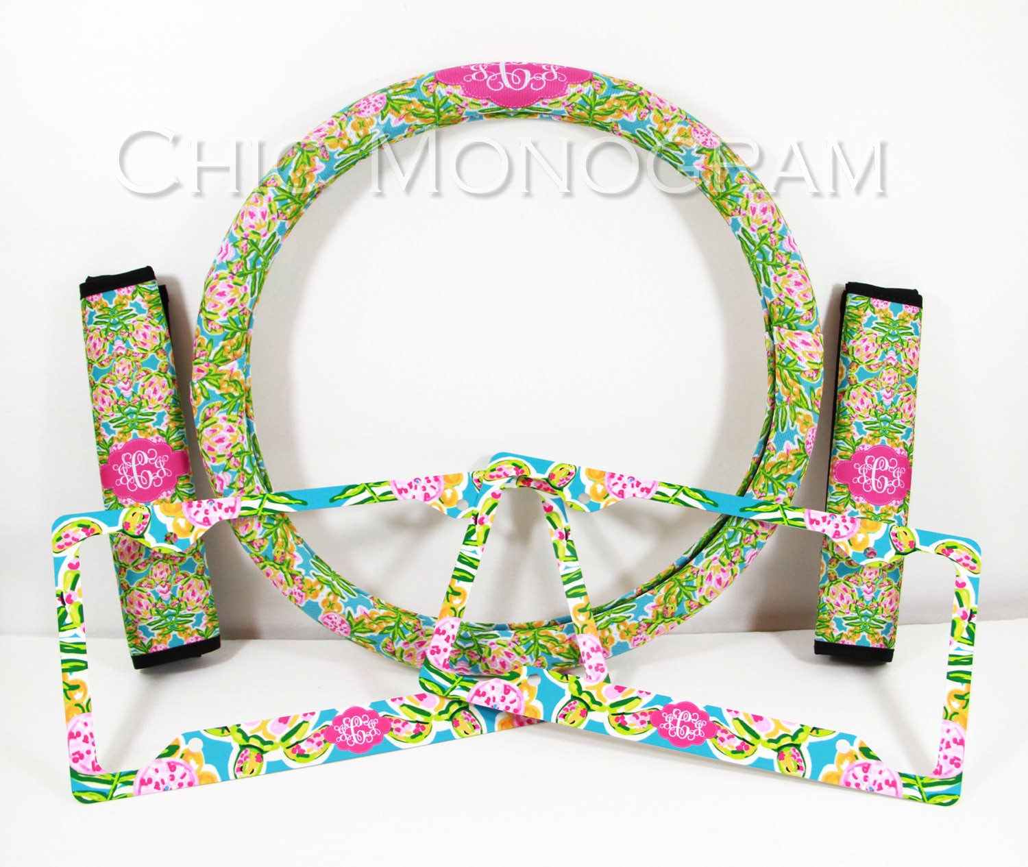 Custom Steering Wheel Cover Padded Insulated Car Accessories Seat ...