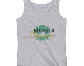 Real World Mermaid Ladies' Tank