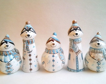 Snowmen and Snow Maiden