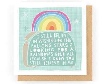 Believe - Greeting Card (1-11C)