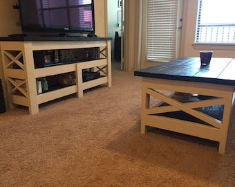 Coffee Table and Entertainment Center
