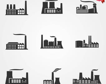 Factory, factory icon, industry icons, building icon, warehouse icon, icons, company icon, factory building, manufacturing icon