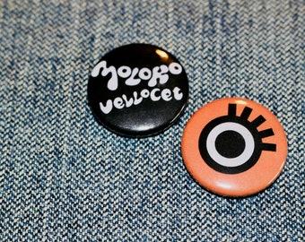 A Clockwork Orange Handmade Button Badges - Moloko Vellocet - Anthony Burgess