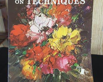 Walter Foster's #79 LEON FRANKS on TECHNIQUES Vintage Art Instruction Book