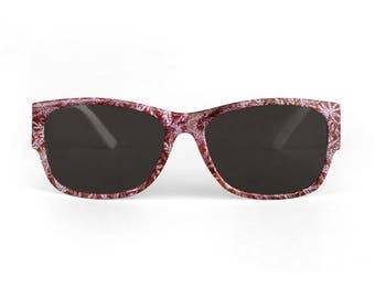 Burgundy sunglasses, sunglasses for her, Wayfarer, Valentine's gifts, sunglasses for her, Marsala sunglasses, maroon sunglasses,