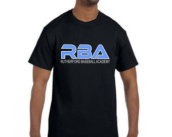 RBA Moisture Wicking Short Sleeve T-Shirt-Front and Back Print