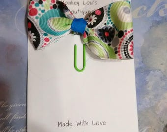 Polka Dream Bow paper clip
